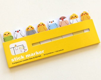 Sticky Notes / Stick Marker - bird