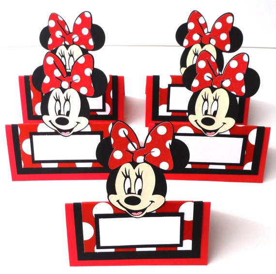 Items Similar To 5 Red Minnie Mouse Clubhouse Themed Tent