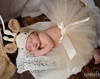 Baby Girl or Baby Boy Crochet Hat Little Giraffe Photography Prop Ready Item