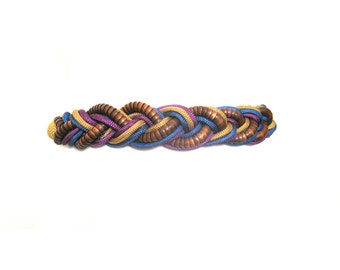 Belt Boho Multicolored Wrapped Knot Cord Size Large
