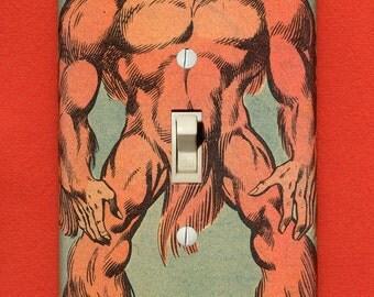 Sasquatch - Superhero Light Switch Plate