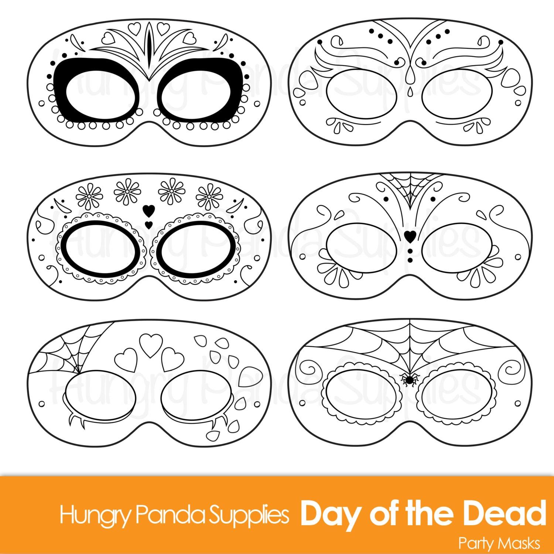 Day of the Dead Masks dia de los muertos Día de Muertos Día