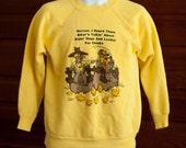 Vintage Sweatshirt - Hillbilly Biker Humor