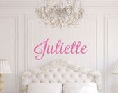 Personalized Name Wall Decal - Name Wall Decal - Monogram Wall Decal - Children Wall Decal