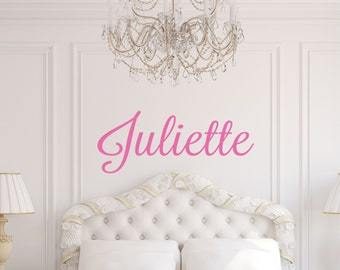 Custom Girls Wall Decal // Personalized Name Stickerl // Custom Girls Bedroom Decal // Nursery Wall Art // Girls Name Decal // Girls Decor