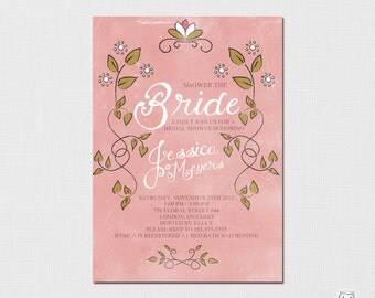 Printable/DIY Bridal Shower Invitation