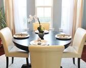 Custom Window Cornice Dining Room