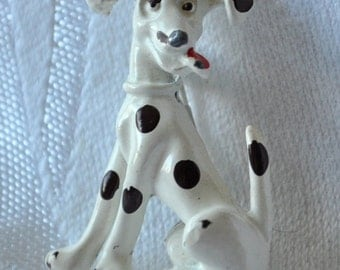 CLEARANCE Vintage Happy Dalmation Dog Pin