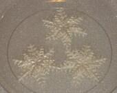 One Dozen Edible Gumpaste Snowflakes