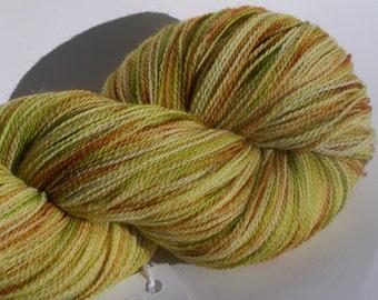 Superwash Merino Lace Yarn, 875 yrds, 100g, 2ply, Kettle Dyed,