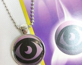 Psychic Energy Pokemon Card Pendant Necklace