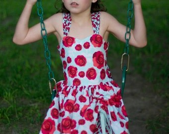 Peek-a-boo dress sizes 2T-6