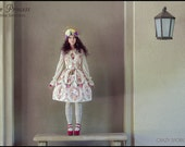 Sweet Hymn of Angels Rose JSK Dress, Classic Lolita, Sweet Lolita