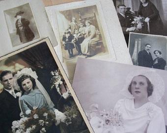 Vintage PHOTO COLLECTION// 6 photos