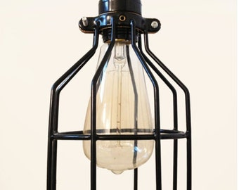 The Tesla Cage Light with Plug-In Cord (Includes Bulb)