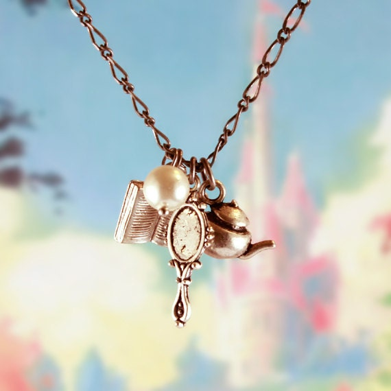 "Princess Belle 30"" Charm Necklace"