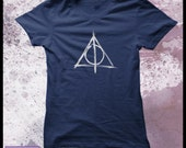 Harry Potter t-shirt women's - Deathly Hallows