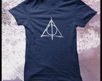 Harry Potter t-shirt Deathly Hallows women's