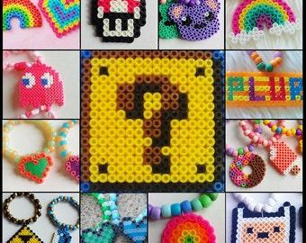Mystery Bag - 5 Random Perler Charm Bracelets
