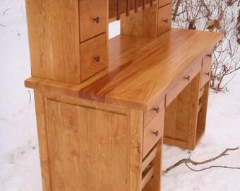 Shaker Cherry Craft Desk
