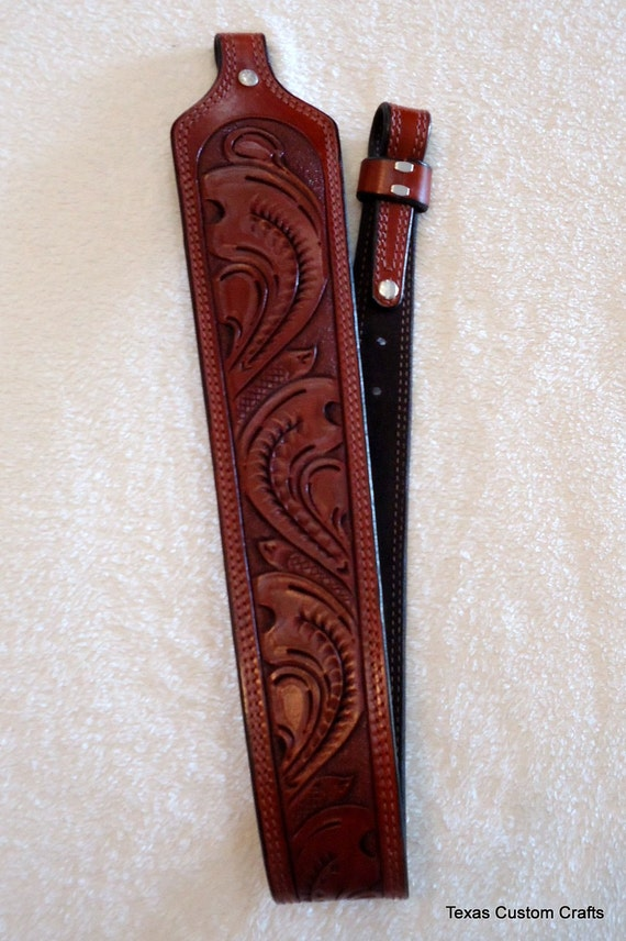 handmade leather rifle slings in stock handmade leather rifle sling with padded shoulder 2872