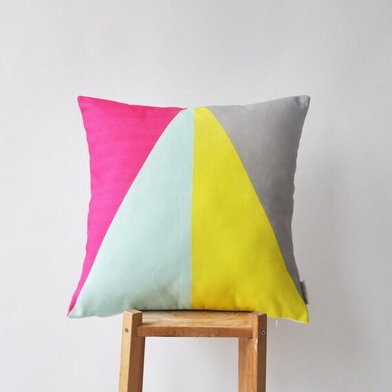 Geometric Throw Pillows Modern Kids Decorative Pillow