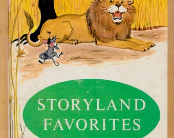 Storyland Favorites - a vintage collection of stories including The Elves and the Shoemaker and Snow-White and Rose-Red