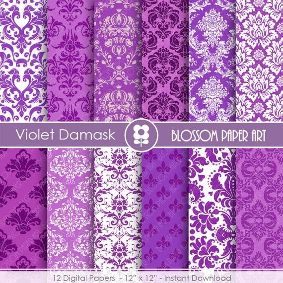 Papel decorativo violeta papeles digitales lila para for Fotos de papel decorativo