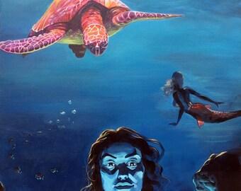 The Mermaid  PRINT