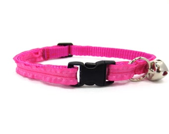 Pink Ruffle Cat Collar