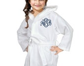 Flower Girl Robes / Flower Girl Gift / Girls Robe / Spa Party Favors / Sleepover Gift