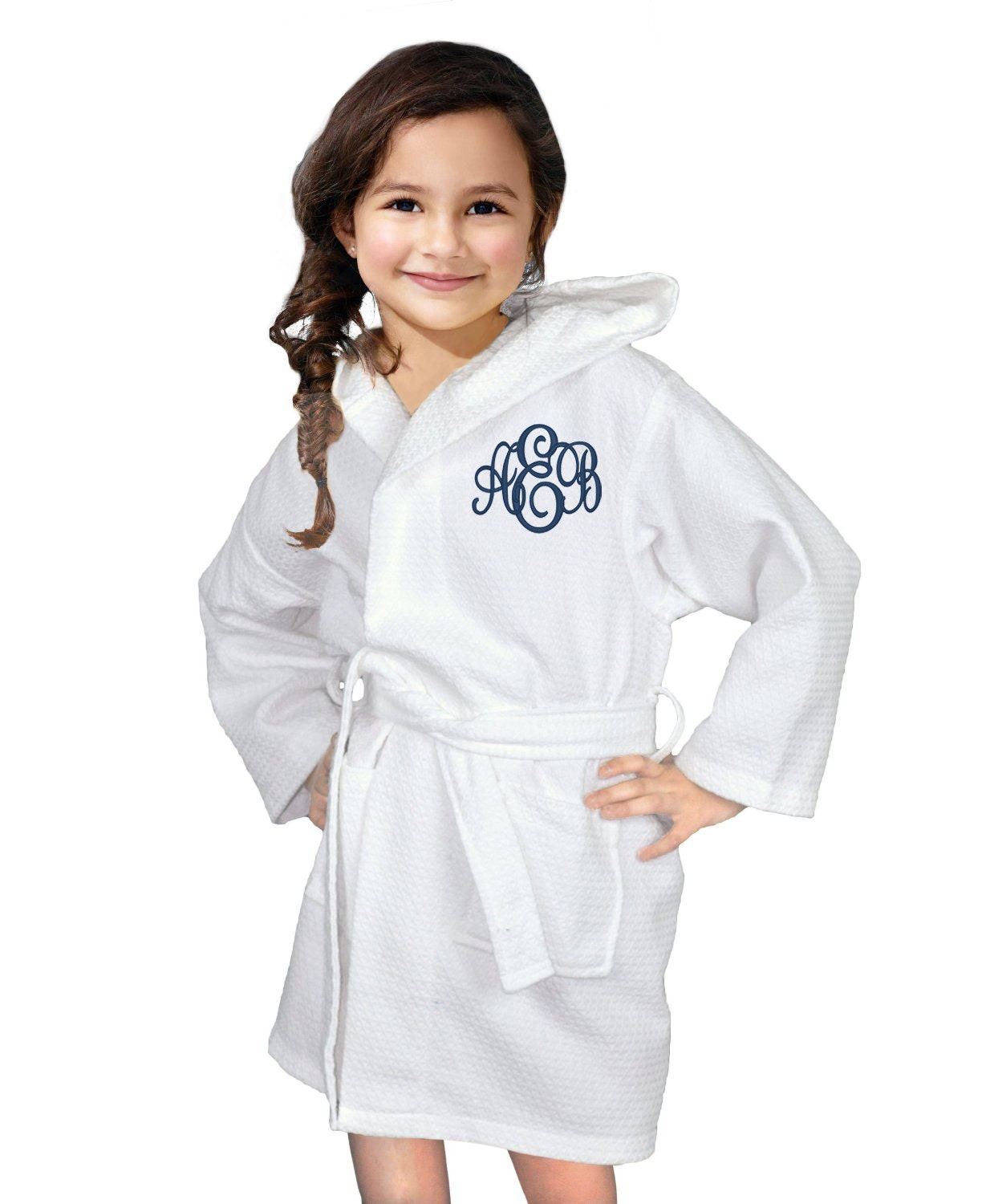 flower girl robes    flower girl gift    girls robe    spa party