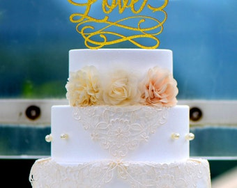 Wedding Cake Topper Monogram Mr and Mrs cake Topper Design Personalized with YOUR Last Name 0015, Love Acrylic cake topper 013