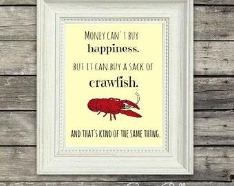 crawfish print; mudbugs; crawfish boil; louisiana