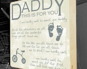 Daddy To Be Gift, New Daddy Gift, Gifts for New Dads, Baby Shower Gift, New Baby, Godparents, Grandparents, Gifts for Dads, Newborn Gift,