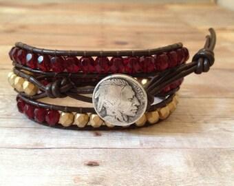 FSU Wrap Bracelet