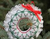 Smocked Wreath Ornament Kit