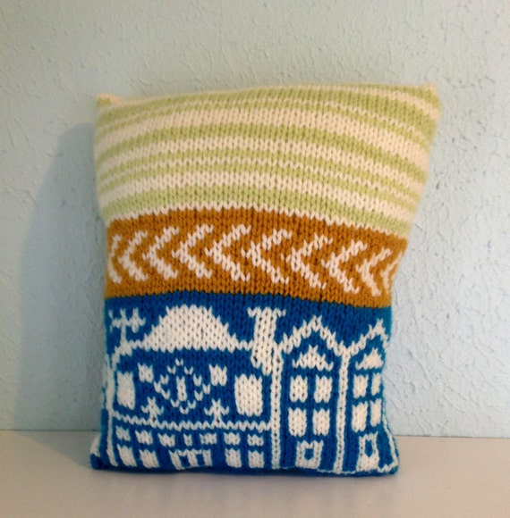 Custom Squishy Pillows : Hand Knit Pillows // Soft Small & Squishy // by ThirdSisterVintage