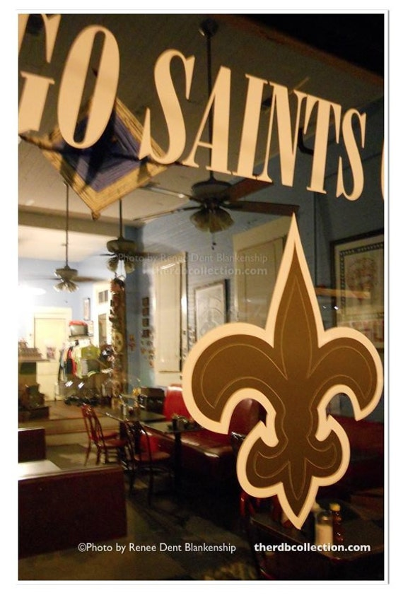 New Orleans Saints Photo Go Saints Uptown By Therdbcollection