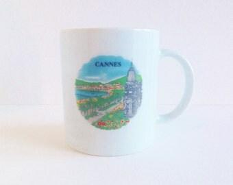Vintage Cannes, France Mug