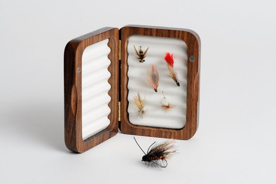 2 personalized fly fishing box father 39 s day gift by for Fishing gift box