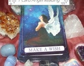 1 Card Mini Angel Reading with your Numerology year ahead, plus psychic messages - 1 Question or General Advice (Video or Email Reading)