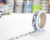 Japanese Washi Tape - Masking Tape - Paper Tape - Washi Paper - Deco Tape - Gift Packing - WT1129