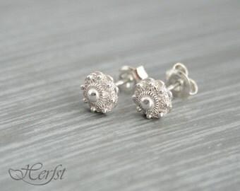 Traditional Dutch Zeeuwse knoop earrings - sterling silver 925, the netherlands, holland, zeeland, zeeuws
