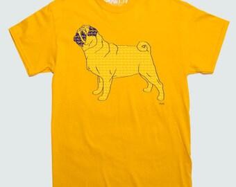Pug Pattern Breed T-shirt