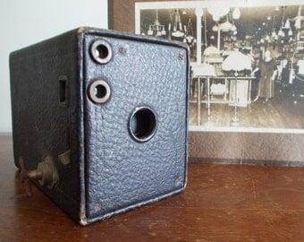Antique Kodak Brownie Box Camera No.2 Model D circa 1910 - SALE