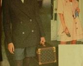 """Jacket & Shorts - 1990's -  Vogue Sport Pattern 8429  Uncut   Sizes 18-20-22  Bust 40-42-44"""""""