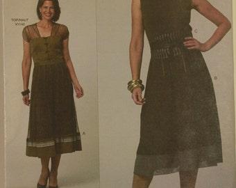 Skirt & Obi by Sandra Betzina - 2009's - Vogue Pattern 1139  Uncut  Sizes One Size