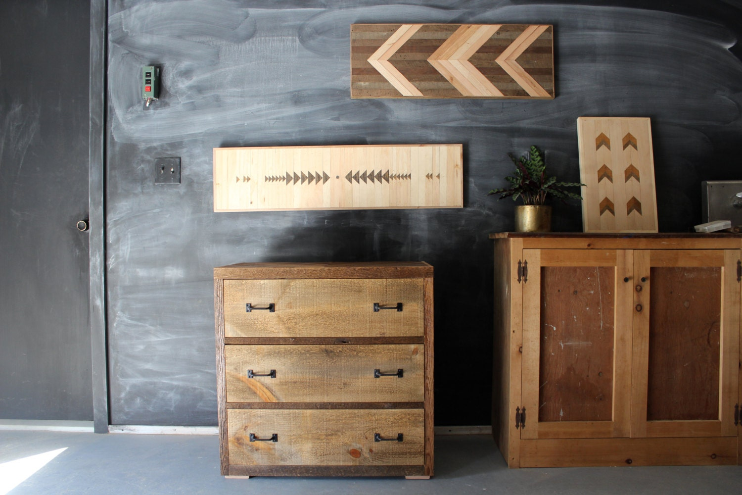handcrafted reclaimed barn pallet wood dresser by newantiquity. Black Bedroom Furniture Sets. Home Design Ideas
