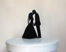 Wedding Cake Topper - First Kiss